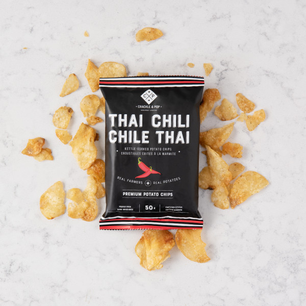 Crackle and Pop Thai Chili Chips (50g) Gift Basket (TCC50G)