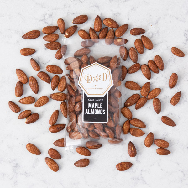 Dabble & Drizzle Maple Almonds Gift Basket (WS02)