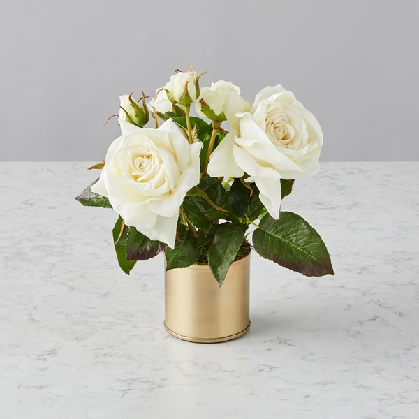 Cupid-Approved Faux Flowers