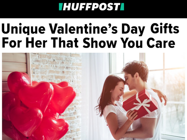 Featured in Huffington Post!!