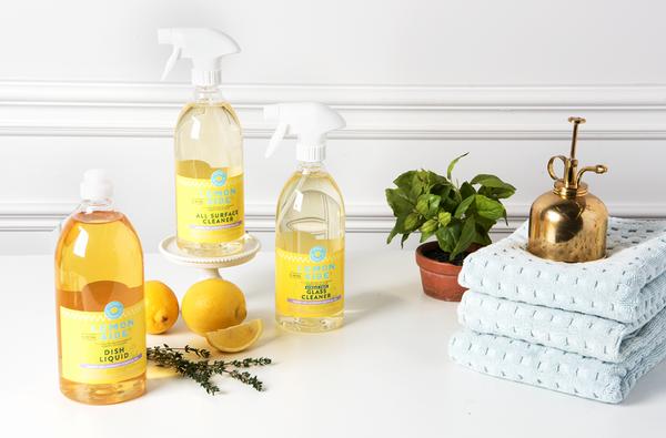 Brand Spotlight: Maison Apothecare - Lemon Aide Natural Cleaners