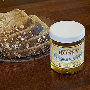 8oz jar of Liquid Honey