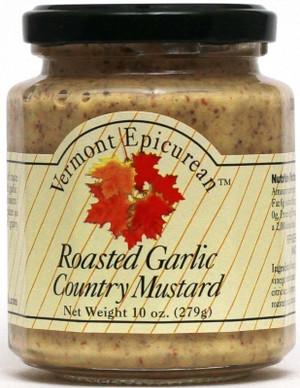 VT Epicurean Roasted Garlic Country Mustard