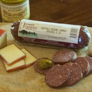 8oz Buffalo Summer Sausage
