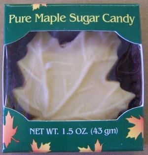 1.5oz Pure Maple Sugar Leaf Candy