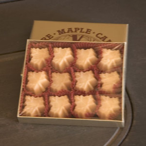 4oz box Pure Maple Sugar Candy
