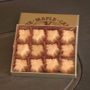 4oz box Pure Maple Sugar Candy