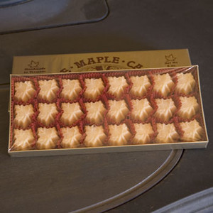 8oz box Pure Maple Sugar Candy