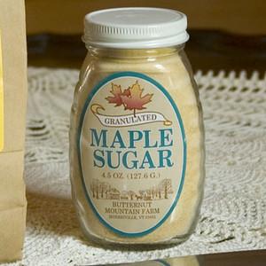 4.5oz jar Organic Granulated Maple Sugar