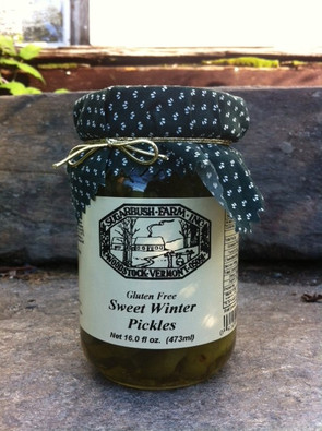 Sweet Winter Pickles