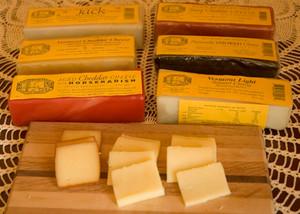 "6-Half Pound Cheese Bars ""Most Popular Assortment"""