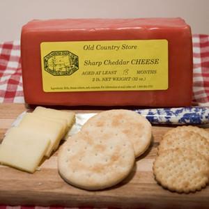 2lb Block 1-1/2 yr Sharp Cheddar Cheese