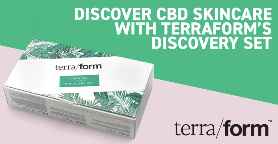 Discover CBD Skincare with Terraform's Discovery Set