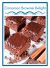 Cinnamon Brownie Delight