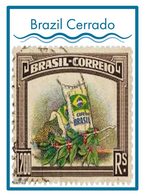 BRAZIL CERRADO COFFEE ----------------------- 16 oz.