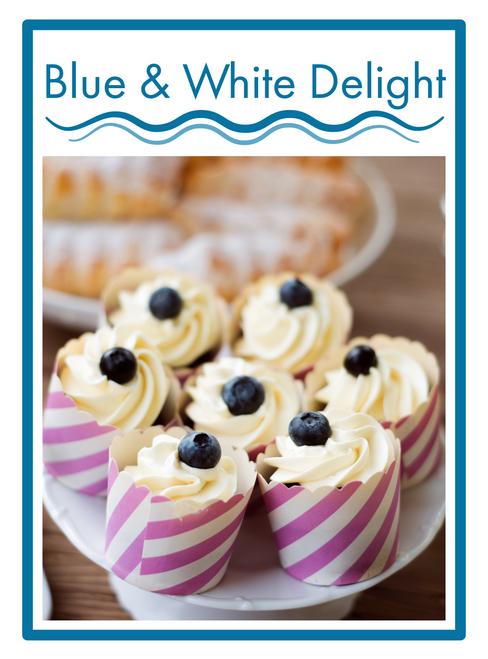 Blue & White Delight
