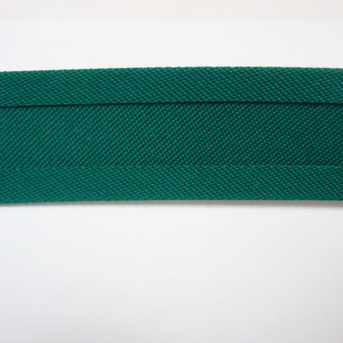 "Recacril Green Bias Binding 1"" Wide - Two Turn"