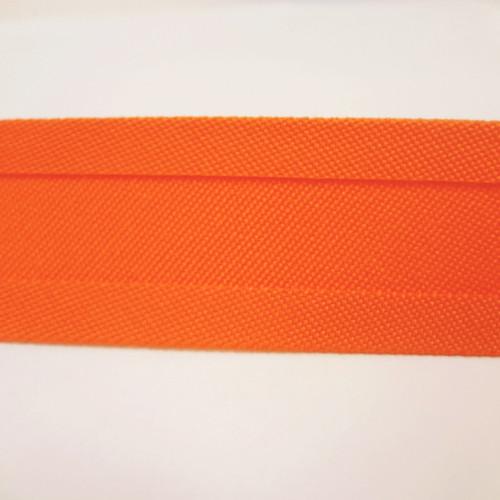 """Recacril Orange Bias Binding 1"""" Wide - Two Turn"""