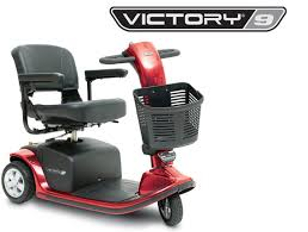 Victory 10, 3-Wheel Luxury Scooter - Pride Mobility