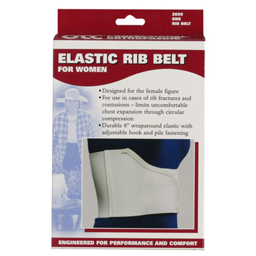 Elastic Rib Belt for Women