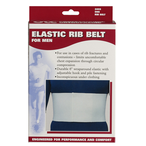 Elastic Rib Belt for Men