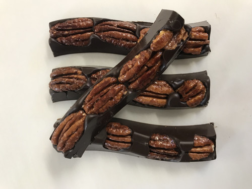 Sweet Heat Pecans in Dark Chocolate