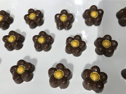 Milk Chocolate Bumble Blossoms with Honey Caramel—6 count