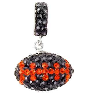 black-and-orange-football-charm-pendant