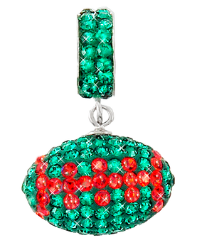 green-and-orange-crystal-football-charm-pendant