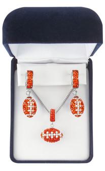 Dark-orange-and-white-crystal-football-boxed-set