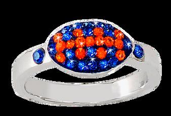 Royal-blue-and-orange-football-ring