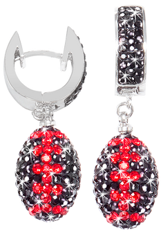 Black-and-gold-crystal-football-earrings