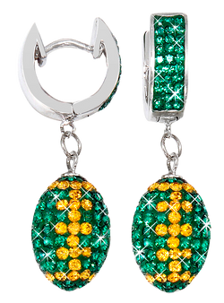Green-and-gold-crystal-football-earrings