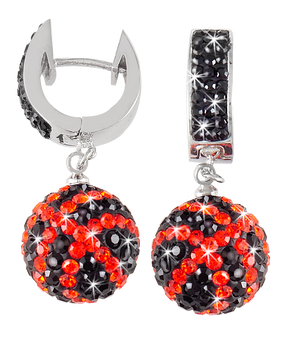 black-and-orange-crystal-football-earrings