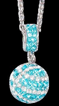 Carolina-Blue-and-white-basketball-charm-pendant