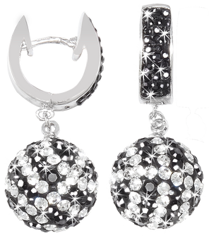 Black-and-white-crystal-basketball-earrings