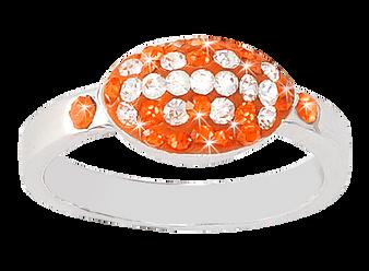 light-orange-and-white-crystal-football-ring