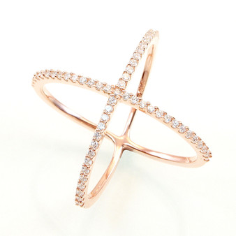 rose-gold-vermeil-x-ring-from-Nisha-Design