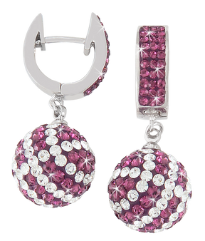 Purple-and-white-basketball-earrings-from-Nisha-Design