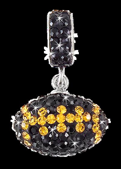 black-and-gold-crystal-football-charm-pendant