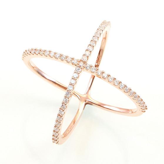 rose-gold-vermeil-x-ring-from-Nisha-Design