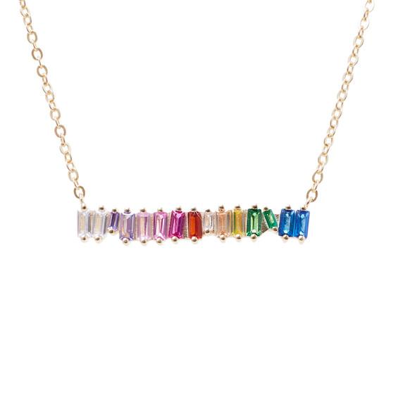 Multicolor Stone Necklace