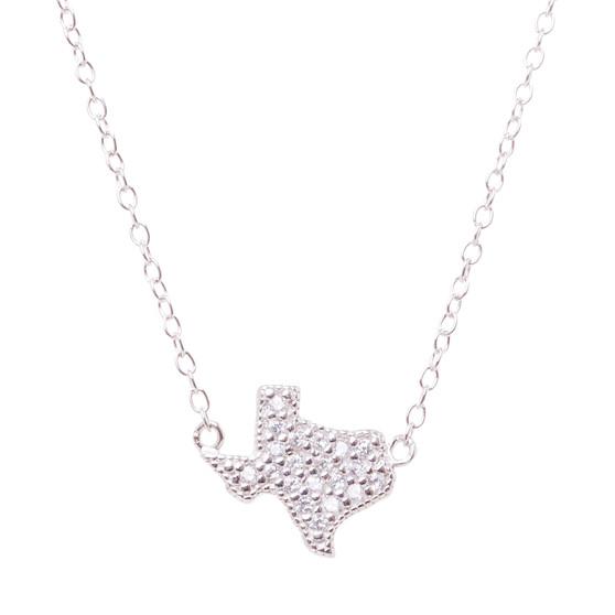 Silver Texas Stone Necklace