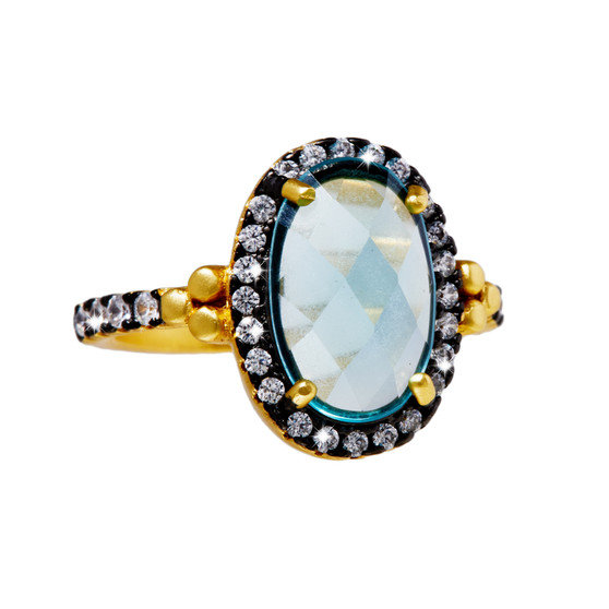 CZ Gemstone Ring