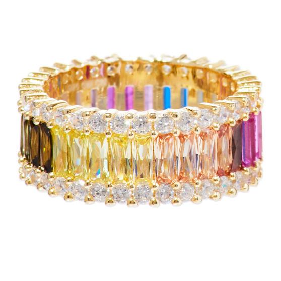 Pastel Multicolor Ring