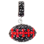 Black-and-red-crystal-football-charm-pendant