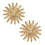 Starburst Earrings - Gold