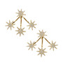 Shooting Stars Earring - Gold
