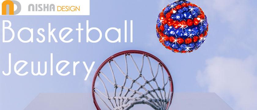 Nisha Design Basketball Jewelry