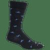 Brown Dog Hosiery Men's Socks - Hyde Navy